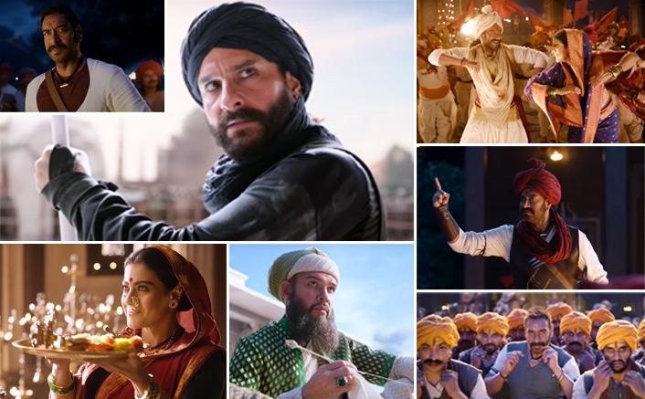 Tanhaji Trailer OUT! Maratha Warrior Ajay Devgn Is All Set To Battle It Out With The Villainous Saif Ali Khan