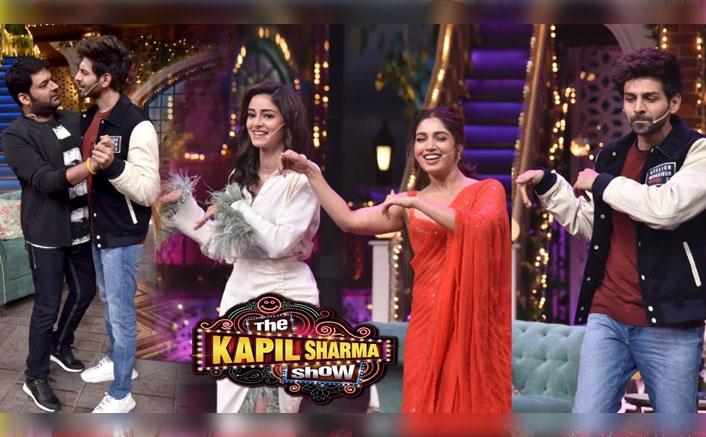 The Kapil Sharma Show: Kartik Aaryan, Bhumi Pednekar & Ananya Panday Teach You How To Fart In A Party