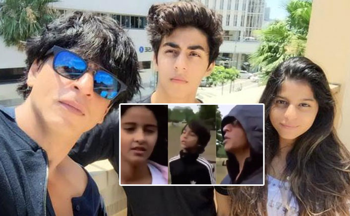 This Throwback Video Of Aryan Khan Fighting With Dad, Shah Rukh Khan Is Every Father-Son Ever!