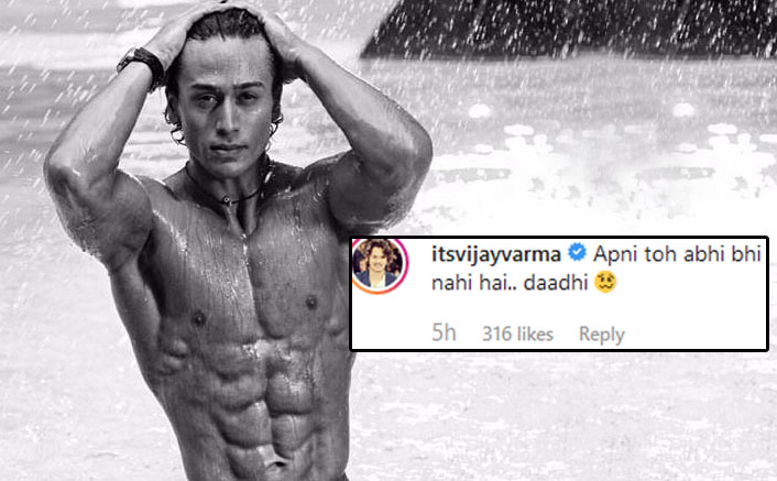 Tiger Shroff Misses Beard In His Throwback Picture But His Baaghi 3 Co-Actor Vijay Varma's Reply Will Make You ROFL
