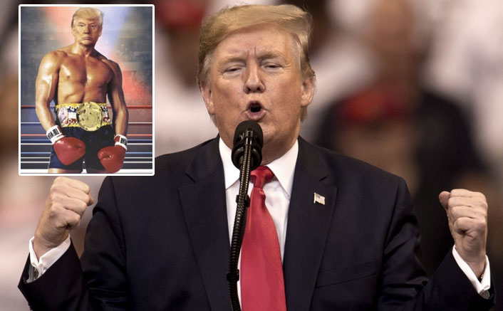 Here's Why Donald Trump Photoshopped His Face On The Body Of Sylvester Stallone's Rocky Balboa