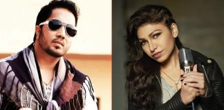 Tulsi Kumar, Mika recreate hit song 'Ankhiyon se goli maare'
