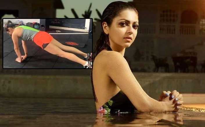 VIDEO: Drashti Dhami Pulling Off Perfect Close Grip Push-Ups Shows All Things Inspiring