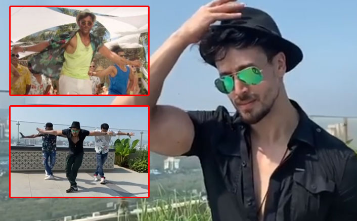VIDEO: Tiger Shroff Steps Into Hrithik Roshan's Dancing Shoes & We Are Finding It Hard To Guess Who's The Best