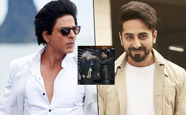 VIDEO: When Shah Rukh Khan Broke A Glass Bottle On Ayushmann Khurrana's Head!