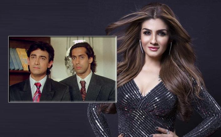 WHAT! Salman Khan, Aamir Khan Were In A Spat On Andaz Apna Apna Sets, REVEALS Raveena Tandon