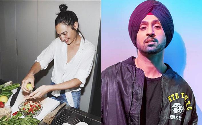 Not Kylie Jenner, But Diljit Dosanjh Wants Gal Gadot To Make 'Gobi Ke Pranthe' For Him!