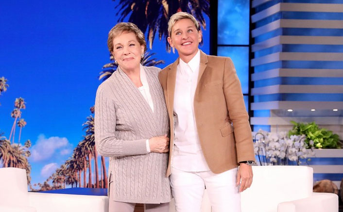 When Julie Andrews watched a 'wild' fake orgy on film set