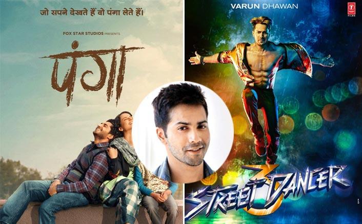 Varun Dhawan REACTS On A Clash Of Street Dancer 3D With Kangana Ranaut's Panga!