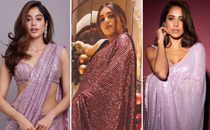 1 Saree 3 Styles: Take Inspiration From Janhvi Kapoor, Bhumi Pednekar & Nushrat Bharucha To Style A Sequence Saree In Different Ways