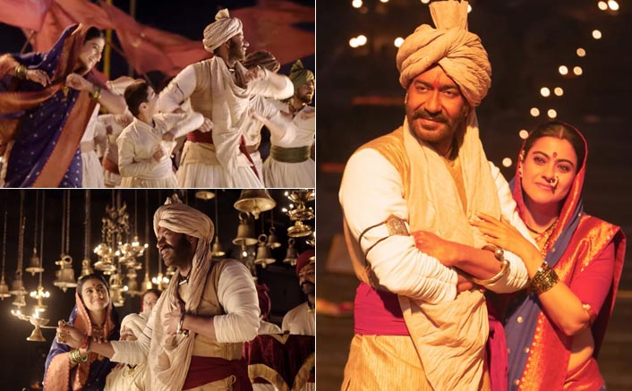 Maay Bhavani From Tanhaji: The Unsung Warrior: Ajay Devgn-Kajol Mesmerise Us With Their Romance & Dance Moves