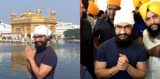 Aamir Khan pays obeisance at Golden Temple