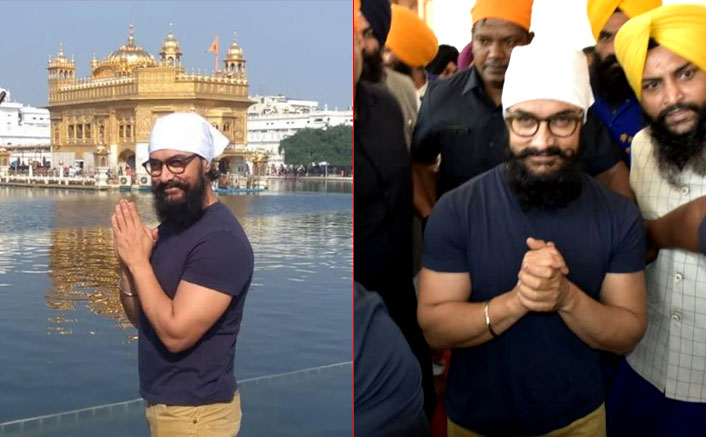 Laal Singh Chaddha Star Aamir Khan Listens To Holy 'Shabad Kirtan' At The Golden Temple!