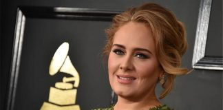 Adele looks glamorous in festive photos after weight loss