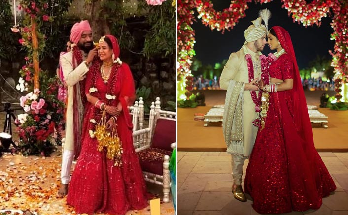 After Babita Phogat & Erica Fernandes, Mona Singh Too Takes Inspiration From Priyanka Chopra's Red Bridal Lehenga
