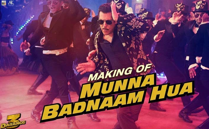 After phenomenal success of Munna Badnaam Hua, here's the Masti, improvisation and creativity that went into making the chartbuster of the year