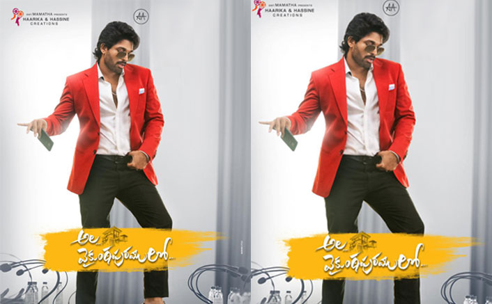 Ala Vaiukunthapurramloo Update: Teaser Of Allu Arjun's Action Drama To Release On THIS Date