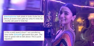 Alia Bhatt's Video Of Taking Star Screen Award Even Before The Function Goes Viral, Gets Slammed