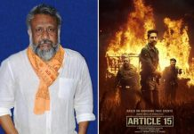 Anubhav Sinha's film Article 15, receives 10 nominations at a major Awards function!