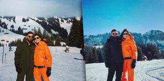 Anushka Sharma & Virat Kohli Are All Set To Welcome 2020 Amid The Snow, PICS