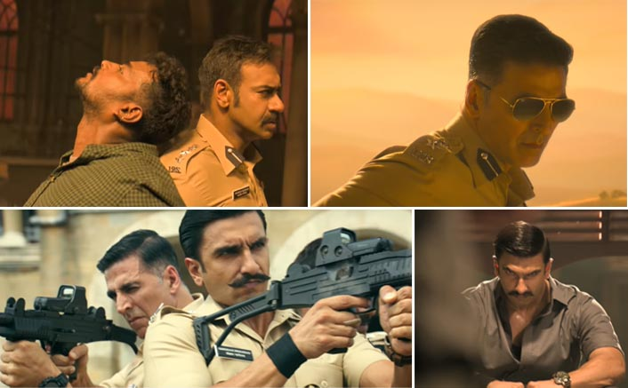 One Year Of Simmba: Rohit Shetty Treats Us With A Glimpse Akshay Kumar, Ranveer Singh & Ajay Devgn's Sequence & It's GRAND; Watch