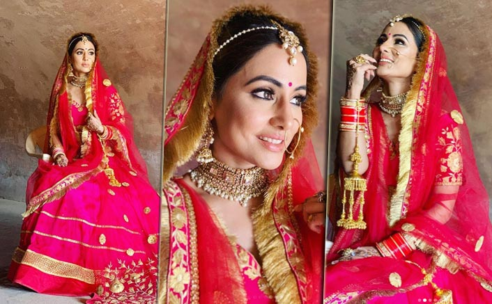 Attention Brides! Hina Khan's Bridal Look From Her Song Raanjhana Is The Perfect Steal