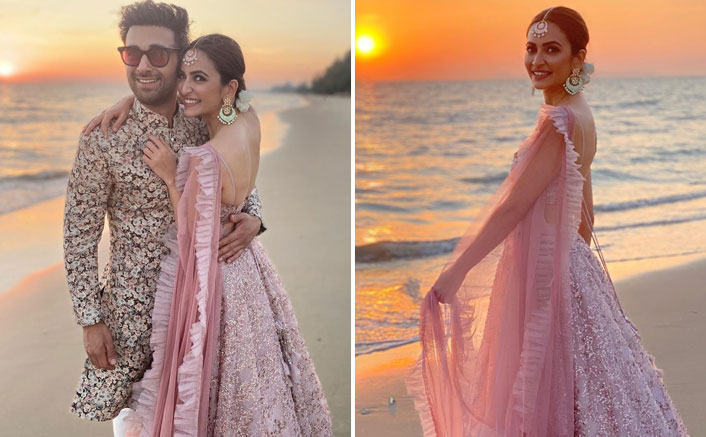 Attention Lovebirds! Kriti Kharbanda & Pulkit Samrat's Complimenting Wedding Outfits Are A Must Steal This Wedding Season