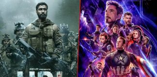 'Avengers: Endgame' sells most online tickets in India, 'URI' is 2nd