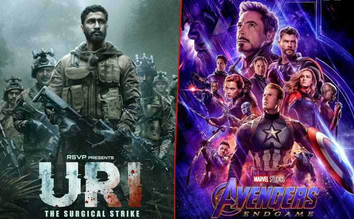 Avengers: Endgame - 1st, Uri - 2nd In Selling The MOST Number Of Tickets Online In India