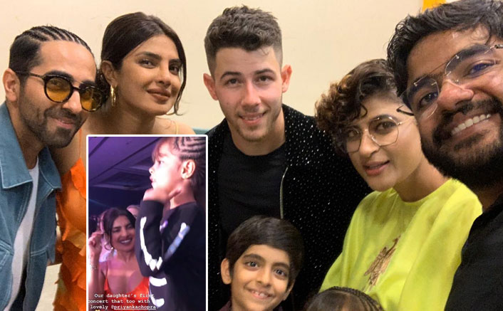 Priyanka Chopra's Dance Video With Ayushmann Khurrana's Daughter At Nick Jonas' Concert Is Adorable AF