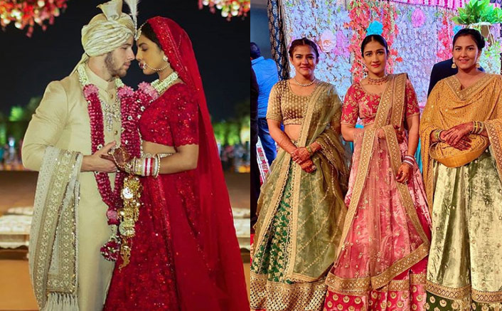 Babita Phogat Wears An Identical Sabyasachi Lehenga That Priyanka Chopra Wore For Her Wedding
