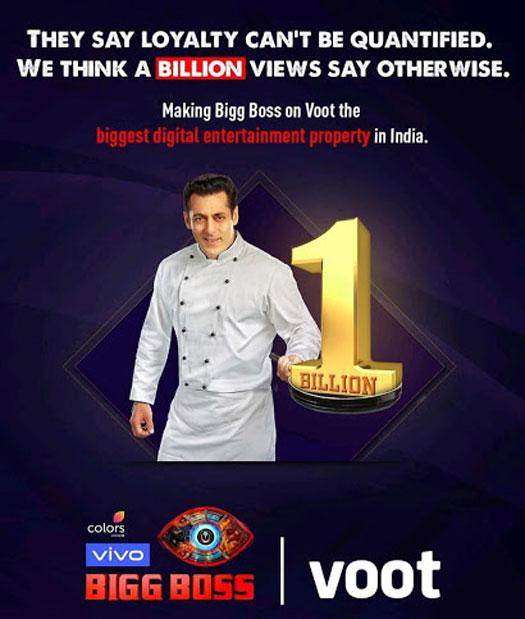 Bigg Boss 13: Salman Khan's Show Becomes The First OTT Show To Cross 1 BILLION Views In India