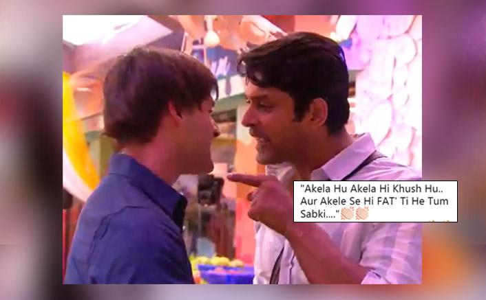 "Bigg Boss 13 Contestant Sidharth Shukla To Asim Riaz: ""Mujh Akele Se Fatti Hai Tum Sabki"""