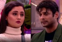 Bigg Boss 13: Rashami Desai Cries Her Out As She Got Carried Away Her Mirror Liplock Scene With Sidharth Shukla