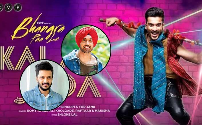 Bollywood celebs Riteish Deshmukh and Diljit Dosanjh give a shoutout to Bhangra Paa Le!