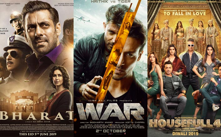 Box Office 2019 Round Up: Hrithik Roshan-Tiger Shroff's War To Akshay Kumar's Housefull 4 - Top 5 Of Overseas