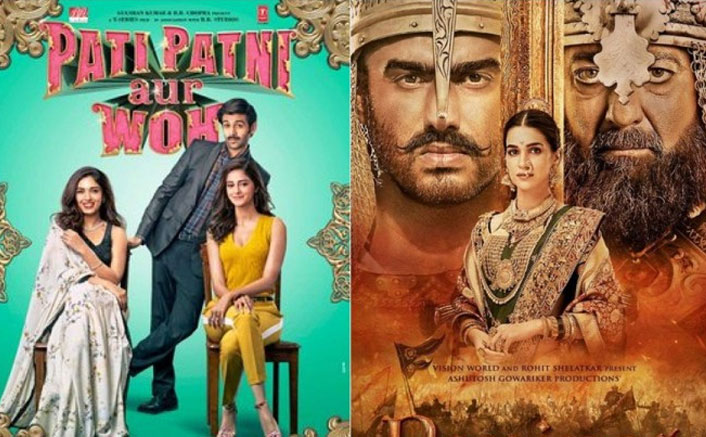Box Office Day 4 Advance Booking: Panipat & Pati Patni Aur Woh Both Drop Badly On Monday