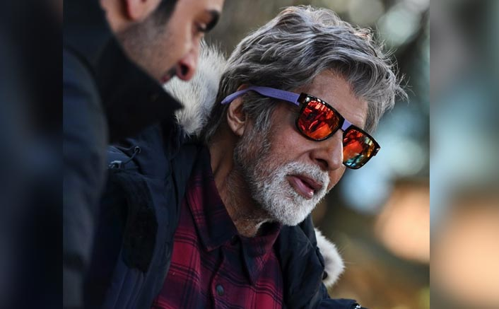Brahmastra: Amitabh Bachchan Looks Dashing As He Shoots For The Ranbir Kapoor-Alia Bhatt Starrer In -3 Degree