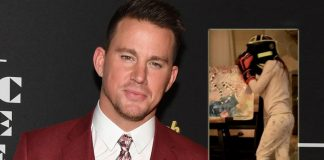 Channing Tatum teaches daughter to box for self defence