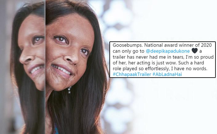 Chhapaak Trailer Twitter Reactions: Fans Can't Stop Gushing About Deepika Padukone's Soul-Shaking Glimpse As Malti