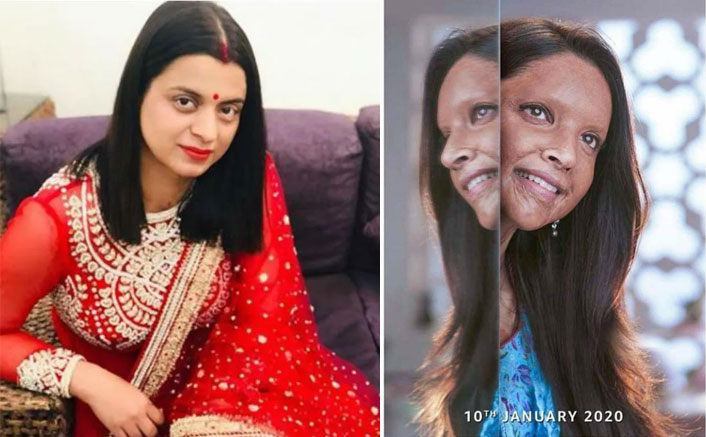 Chhapaak: Rangoli Chandel Applauds Deepika Padukone For The Trailer