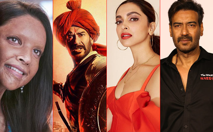 Chhapaak VS Tanhaji: The Unsung Warrior & Golmaal FIVE VS Mahabharat; Two Clashes Are ON For Ajay Devgn & Deepika Padukone?