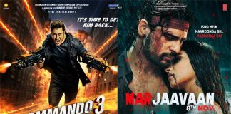 Commando 3 Vs Marjaavaan Box Office: 5 Day Business Comparison Of Sidharth Malhotra & Vidyut Jammwal Starrer