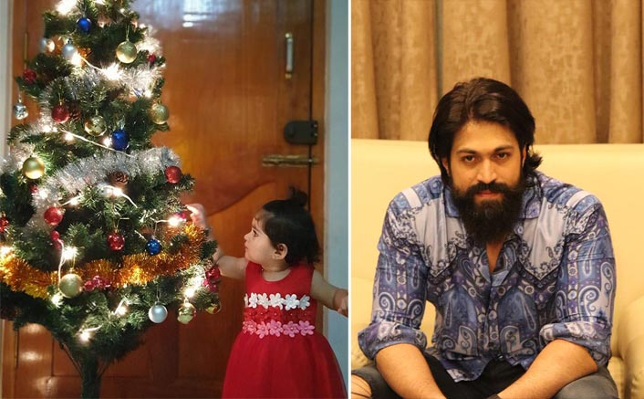 Cuteness Alert: KGF Star Yash Shares An Adorable Christmas Picture Of Daughter Ayra Along with A Heartfelt Message; Netizens Go Gaga