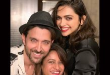 Deepika Padukone & Hrithik Roshan's VIRAL Selfie Makes Fans Crave For A Movie Featuring Them Together
