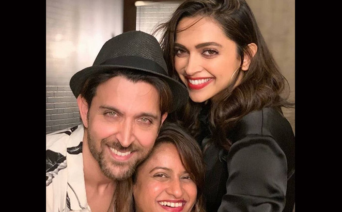 Deepika Padukone's Adorable Selfie With Hrithik Roshan Has Netizines Wishing To See Them Together On The Big Screen