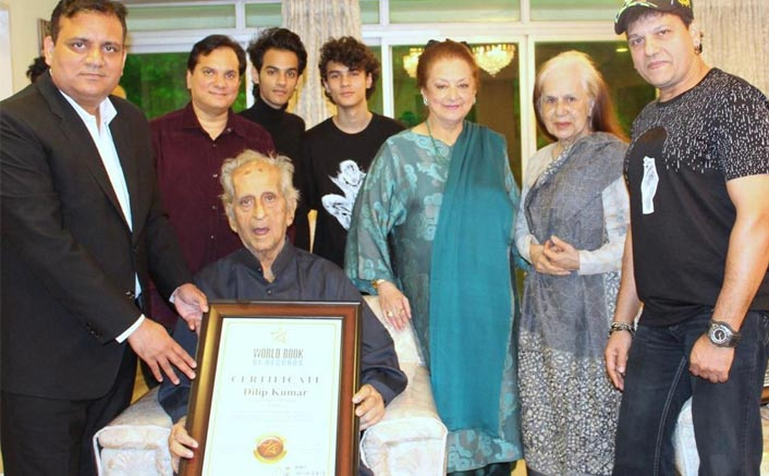 Dilip Kumar Honoured By The World Book Of Records For His Unparalleled Contribution To Cinema