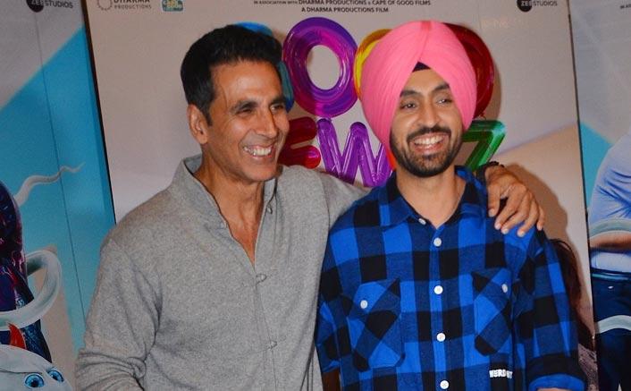 "Diljit Dosanjh On His Good Newwz Co-Star Akshay Kumar: ""Nobody Can Beat His Comic Timing"""