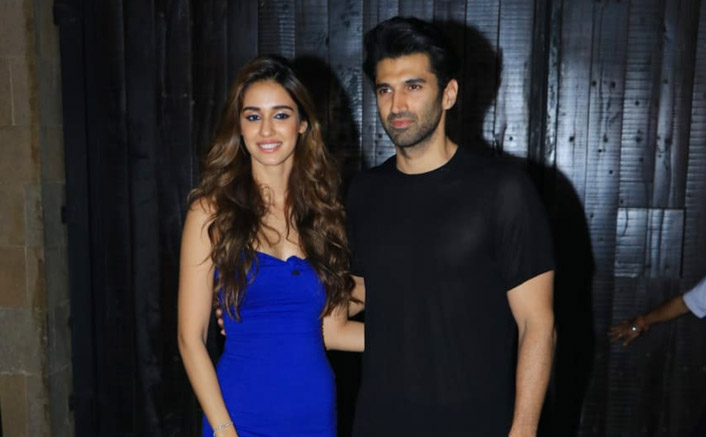 Disha Patani-Aditya Roy Kapur are looking absolutely like a hot duoin these pictures from last night!