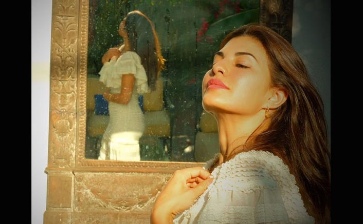 Dreaming of a white Christmas, Jacqueline Fernandez shines in her festive glory and we're in awe!